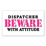 Dispatcher Attitude Rectangle Decal
