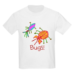 Kid Art Bugs Kids Light T-Shirt