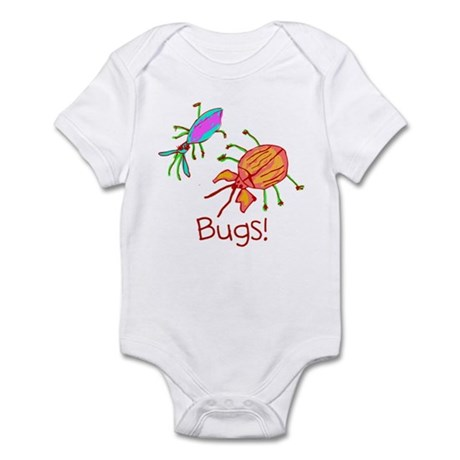 Kid Art Bugs Infant Bodysuit
