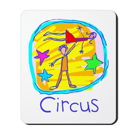 Kid Art Circus Mousepad
