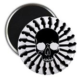 Guitar Skull Magnet