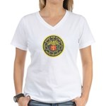 SF Federal Reserve Bank Women's V-Neck T-Shirt