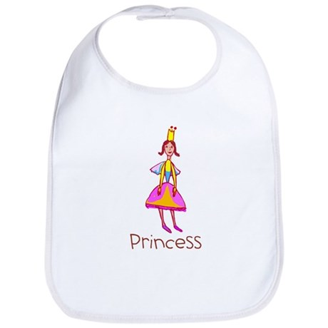 Kid Art Princess Bib