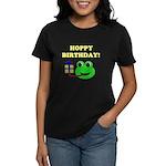 HOPPY BDAY Women's Dark T-Shirt