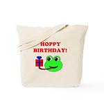 HOPPY BDAY Tote Bag