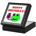 HOPPY BDAY Keepsake Box