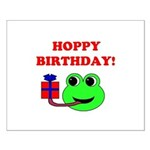 HOPPY BDAY Small Poster