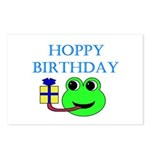 HOPPY BDAY Postcards (Package of 8)