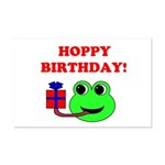 HOPPY BDAY Mini Poster Print
