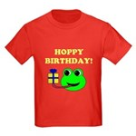 HOPPY BDAY Kids Dark T-Shirt