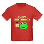 HOPPY BDAY Kids Dark T-Shirt