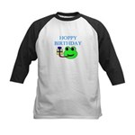 HOPPY BDAY Kids Baseball Jersey