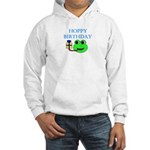 HOPPY BDAY Hooded Sweatshirt