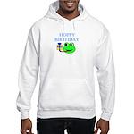 HOPPY BDAY Hooded Sweatshirt