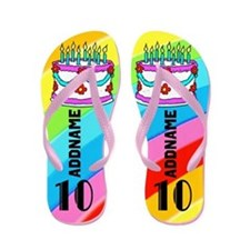 Terrific 10th Flip Flops