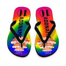 10th Celebration Flip Flops