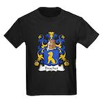 Brachet Family Crest Kids Dark T-Shirt
