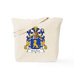 Brachet Family Crest Tote Bag