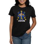 Brachet Family Crest Women's Dark T-Shirt