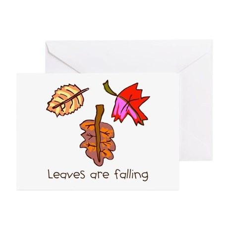 Kid Art Leaves Greeting Cards (Pk of 10)