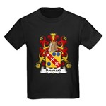 Boussard Family Crest Kids Dark T-Shirt