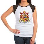 Boussard Family Crest Women's Cap Sleeve T-Shirt
