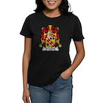 Boussard Family Crest Women's Dark T-Shirt