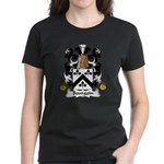 Bourgoin Family Crest Women's Dark T-Shirt