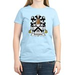 Bourgoin Family Crest Women's Light T-Shirt