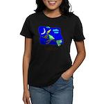 Kid Art Witch Women's Dark T-Shirt