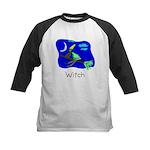 Kid Art Witch Kids Baseball Jersey