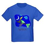Kid Art Witch Kids Dark T-Shirt