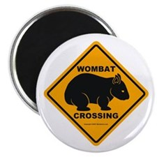 Wombat Crossing Magnet