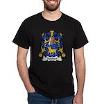 Bouhier Family Crest Dark T-Shirt
