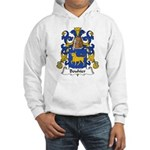 Bouhier Family Crest Hooded Sweatshirt