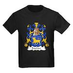 Bouhier Family Crest Kids Dark T-Shirt