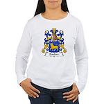 Bouhier Family Crest Women's Long Sleeve T-Shirt