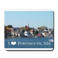 Cute Portsmouth nh Mousepad