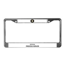 Unique Pst License Plate Frame