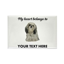Personalized Shih Tzu Rectangle Magnet