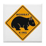 Wombat Xing Tile Coaster