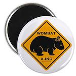 Wombat Xing Magnet