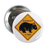 Wombat Xing Button