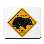 Wombat Xing Mousepad