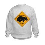 Wombat Xing Kids Sweatshirt