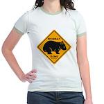 Wombat Xing Jr. Ringer T-Shirt