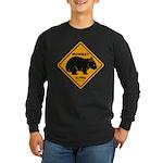 Wombat Xing Long Sleeve Dark T-Shirt
