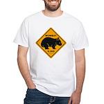 Wombat Xing White Tee-Shirt