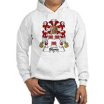 Blond Family Crest Hooded Sweatshirt