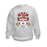 Blond Family Crest Kids Sweatshirt